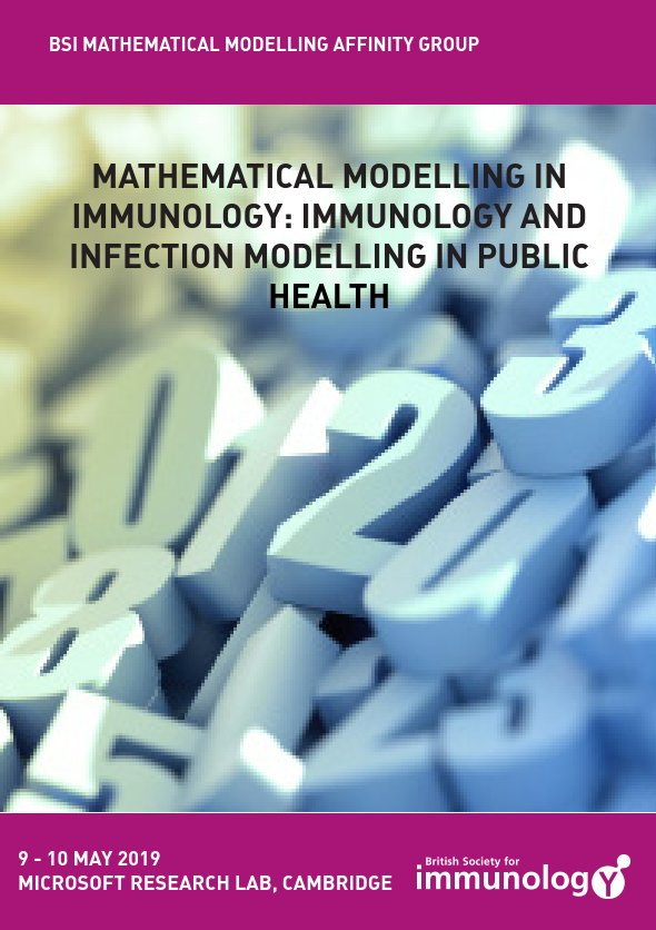 British Society for Immunology: Mathematical Modelling