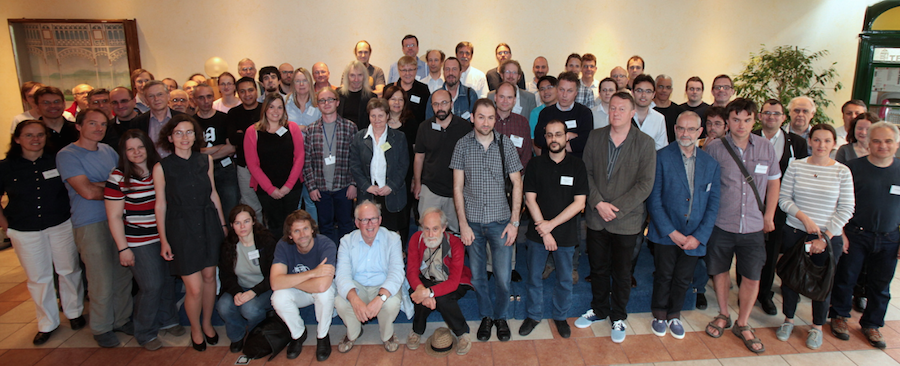 photo of CiE 2014 participants